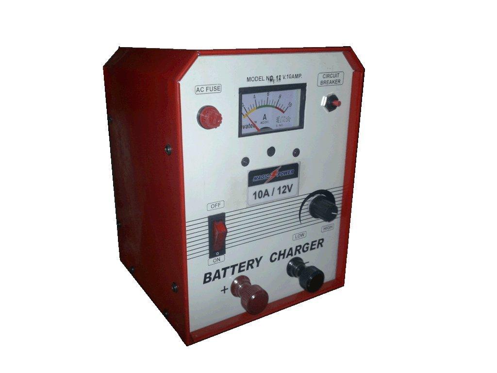 Alkaline Lead Acid Maintanence Free Battery Charger 12v 24v 7ah 10ampere